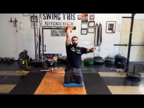 Super Strict Shoulder Press  variations for Stabilization and Strength with #kettlebells
