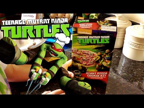 TMNT Let's Cook a Nickelodeon Teenage Mutant Ninja Turtles Giant Pizza Cookie