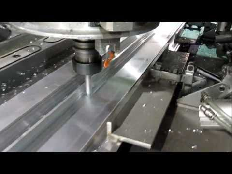 CNC Router - Cutting Aluminum Extrusion