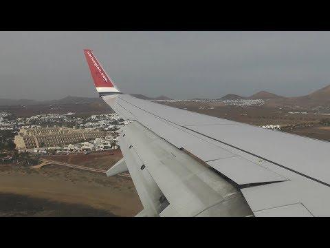 [INFLIGHT] Norwegian 737-8JP G-NRWY London Gatwick - Lanzarote (Full Flight)