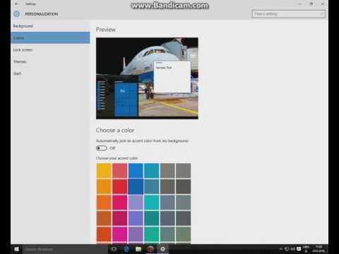 CHANGE WINDOWS 10 START MENU COLOR AND RESIZE IT