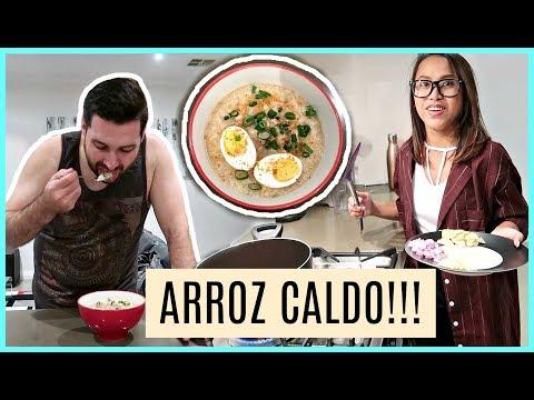 ARROZ CALDO RECIPE!! SOBRANG DALI LANG!! ❤️ | rhazevlogs