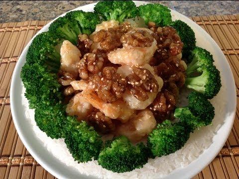How To Make Honey Walnut Shrimp-Asian Food Recipes