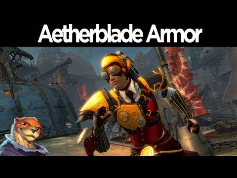 Guild Wars 2 - Aetherblade Armor Set Preview  (All Races)