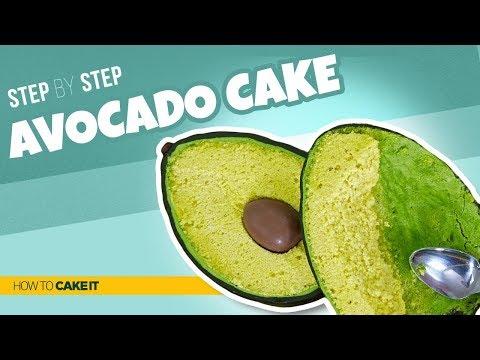 How To Make an Avocado CAKE | Step By Step | How To Cake It | Yolanda Gampp