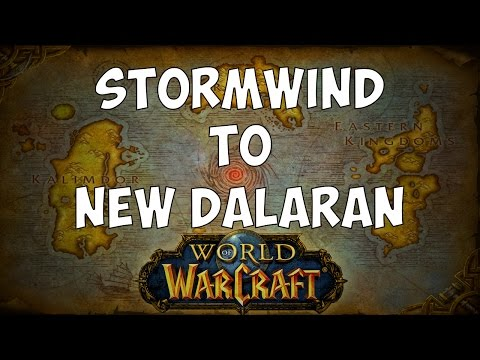 How to get to New Dalaran from Stormwind