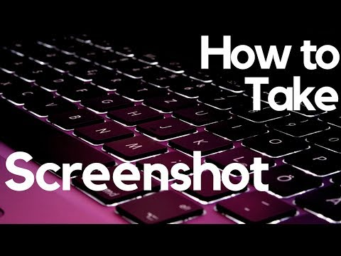 How to Take a ScreenShot with Full Edit Mode. Crop Highlight Write etc.
