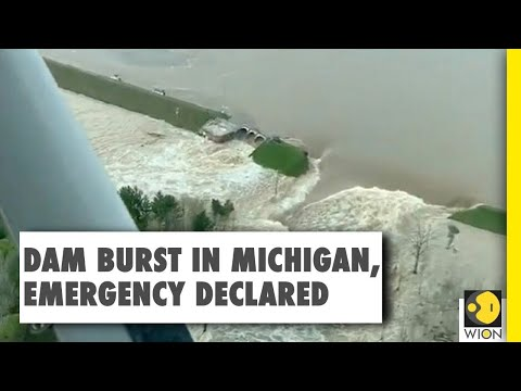 Thousands evacuated after dams burst in Michigan, state of emergency declared