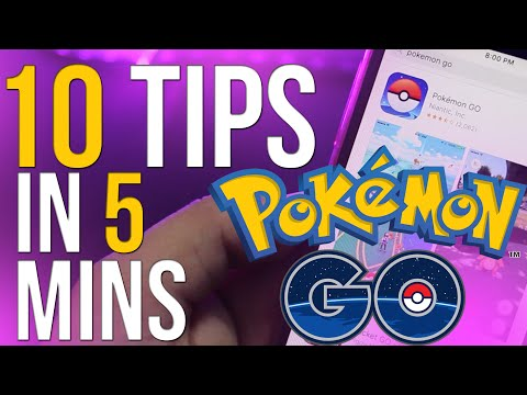 Top 10 BEST Pokemon Go Tips and Tricks to become PRO Trainer
