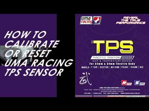 UMA RACING TPS Calibration