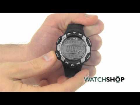 Lorus Men's Alarm Chronograph Watch (R2347CX9)