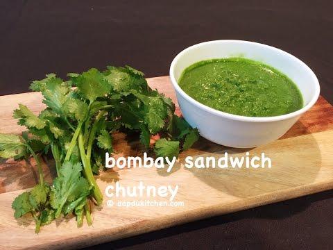 bombay sandwich chutney recipe | green chutney for sandwich recipe