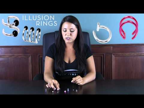 Faux Body Jewelry: Cheater Plugs and Illusion Rings