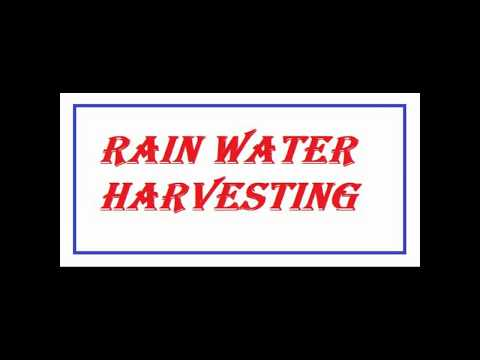 How to make working model of rain water Harvesting science fair project