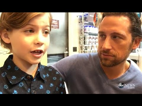 Jacob Tremblay Brings His Dad to Work for 'Take Your Kids to Work Day'
