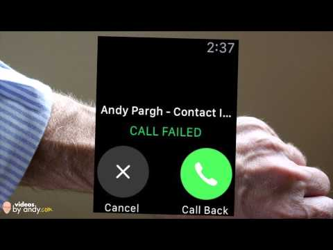 Call Failed On Apple Watch - Intermittent Problems With New Apple Watch - But I Still Like It!