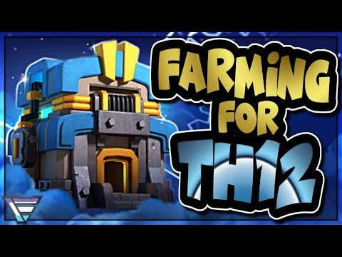 PREPARING FOR TOWN HALL 12 | FARM AND WAR ATTACKS | Clash of Clans