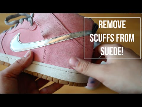 How To: Remove Scuffs and Marks From Suede!