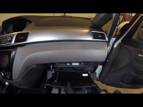 Honda Odyssey Cabin Air Filter Replacement