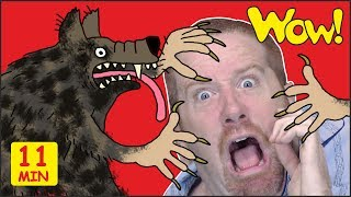 Haunted House for Kids + MORE Halloween Stories for Children from Steve and Maggie | Wow English TV