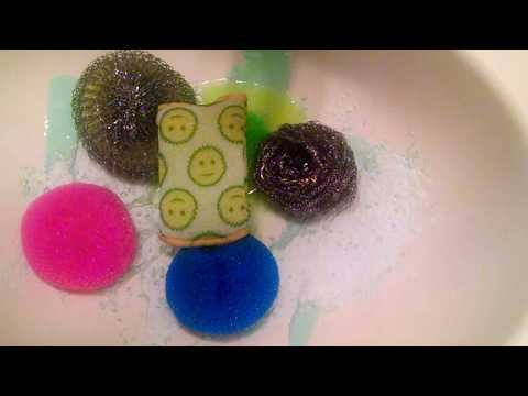 Sudsy, Soapy Scourers!! ft. Comet Powder & Cream Cleanser, Mr. Clean & Dawn | ASMR CLEANING