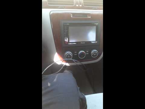 How to bypass parking brake. Pioneer AVH-200BT