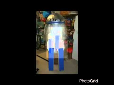 How to make a R2D2 costume