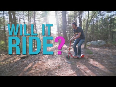 WILL IT RIDE? - Razor Electric Scooter