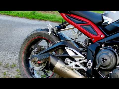 street triple r 765 sc1r project sound exhaust sc project