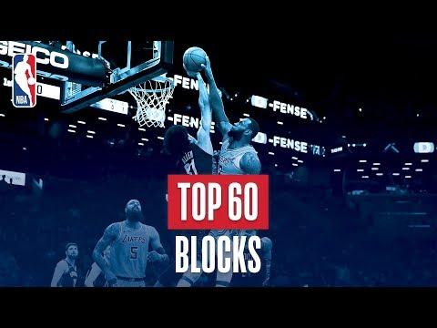 NBA's Top 60 Blocks | 2018-19 NBA Season | #NBABlockWeek
