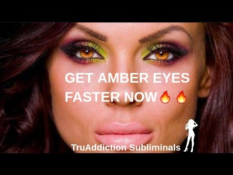 GET AMBER EYES FASTER NOW🔥 (NEW FORMULA)~TruAddiction Subliminals💋