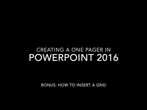 PowerPoint Size & Grid
