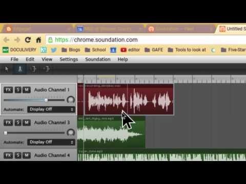 Soundation.com - Podcasting in Chrome
