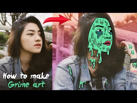 How to create Grime Art on Android | Infinite Design tutorial | Android Editing Tutorial