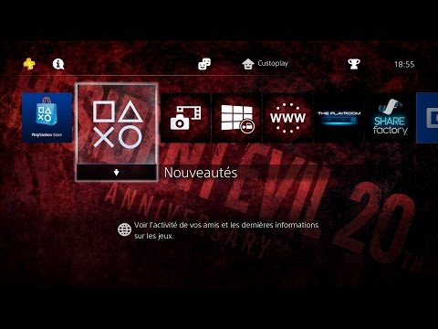 [PS4 THEME] Resident Evil 20th Anniversary
