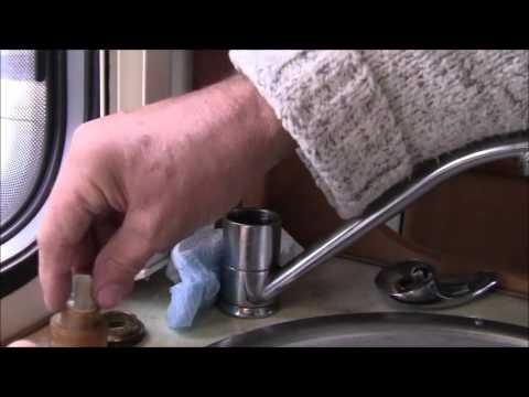 MOTORHOME/CARAVAN TAP LEAKING REPAIR