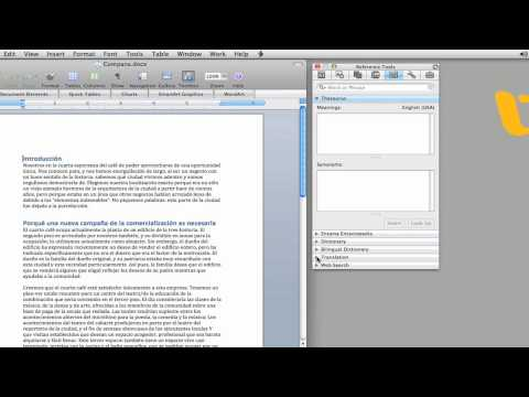 Office for Mac Tips - Document Translation