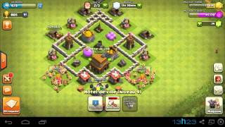 clash of clans layout cv 4 tecnica de combate - Layout Cv 4 Guerra