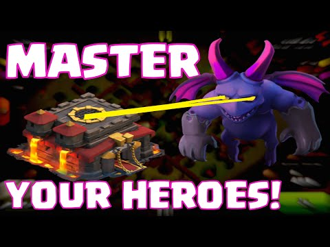 Clash Of Clans How To Use Your Heroes Correctly | Send A Scout Minion