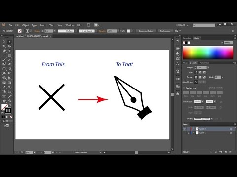 How to Change the Pen Tool Cursor from a Cross Back to Normal in Adobe Illustrator - Quick Tips