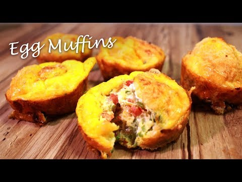 Egg Muffin Cups | Easy & Quick Egg Breakfast | Healthy Breakfast | Egg Recipes | 2018