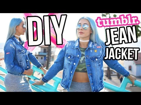 Denim Jacket Style Tumblr Denim Style Jacket