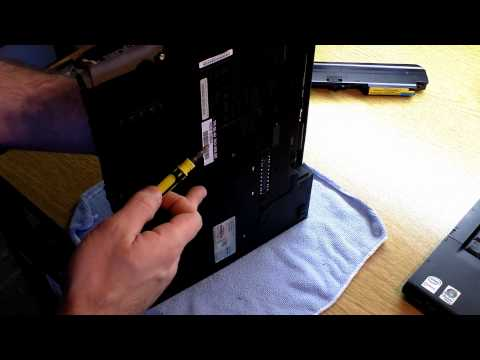 How to Remove and Reset the Power-On Password for a Thinkpad (Lenovo, IBM, T61, T400 etc)