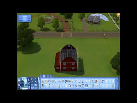 The Sims 3: How to Build a Barn