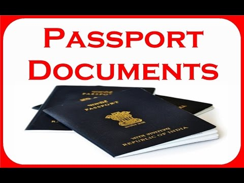DOCUMENTS REQUIRED FOR PASSPORT! NEW RULES!! (HINDI 2017)