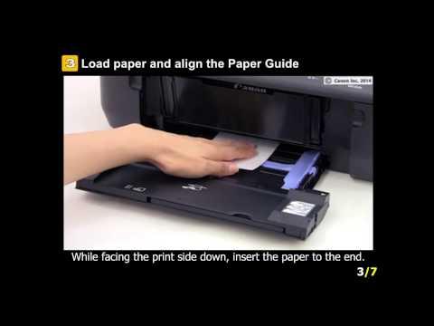 PIXMA MG6620: Setting the paper