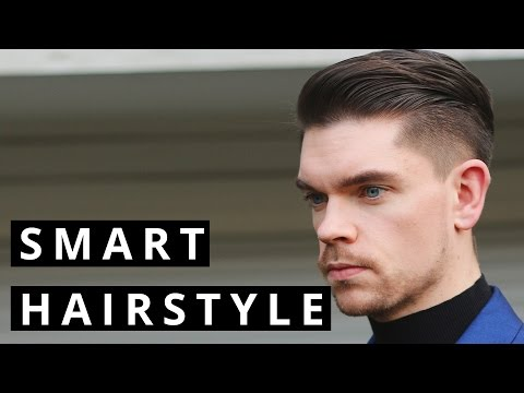Men's Formal and Evening Hairstyle | How To