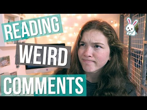 Reading Weird Comments