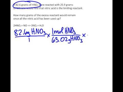 Excess Reactant