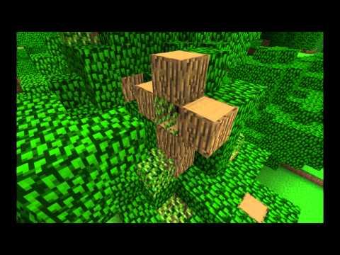 Minecraft , growing big tree